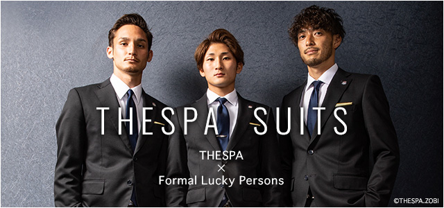 THESPA SUITS HESPA×Formal Lucky Persons